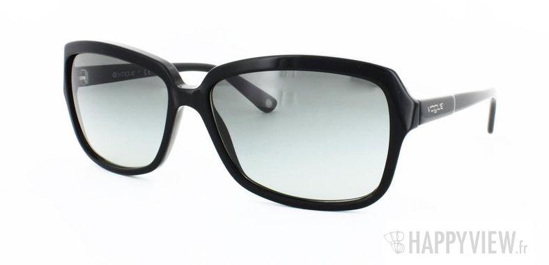 Lunettes de soleil Vogue Vogue 2660S noir - vue de 3/4