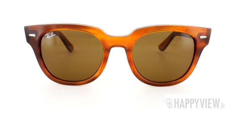 Lunettes de soleil Ray-Ban Ray-Ban Meteor orange - vue de face