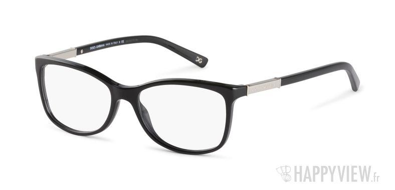 Lunettes de vue Dolce & Gabbana DG 3107 noir - vue de 3/4