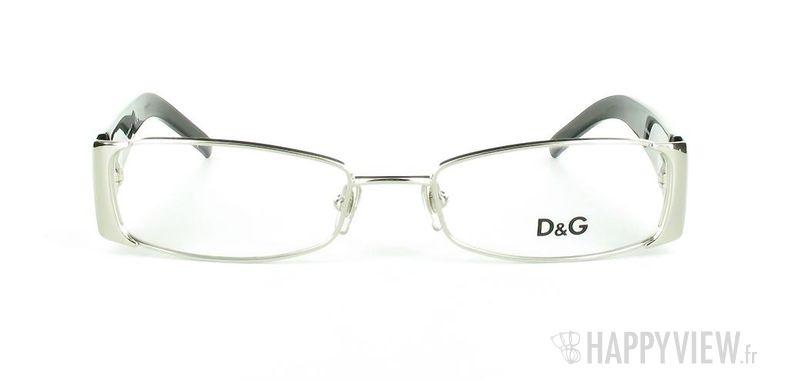 Lunettes de vue Dolce & Gabbana D&G 5049 gris/noir - vue de face