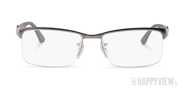 Lunettes de vue Ray-Ban RX 8411 Carbone gris - vue de face