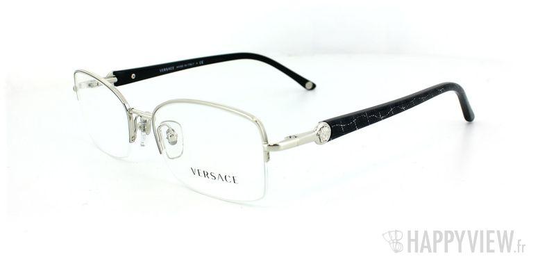 Lunettes de vue Versace Versace 1193 argenté - vue de 3/4