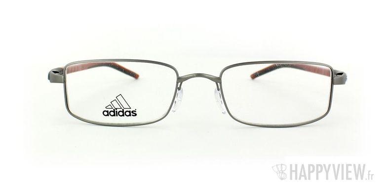 Lunettes de vue Adidas Adidas A676 gris/rouge - vue de face