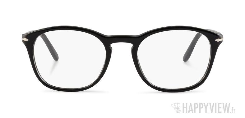 Lunettes de vue Persol PO 3007V noir - vue de face