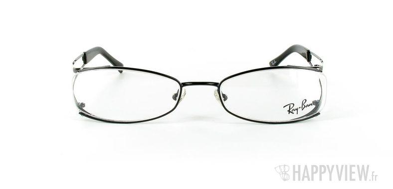 Lunettes de vue Ray-Ban Ray-Ban RX6091 noir - vue de face