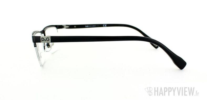 Lunettes de vue Dolce & Gabbana D&G 5104 noir - vue de côté