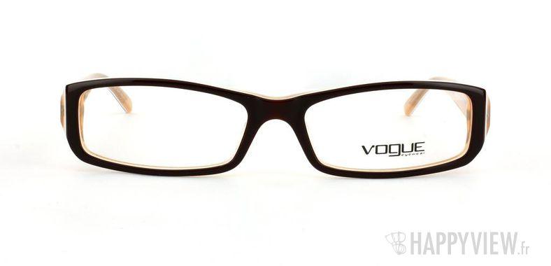 Lunettes de vue Vogue Vogue 2648 marron - vue de face