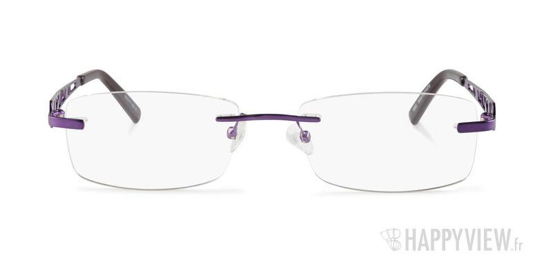 Lunettes de vue Happyview Merignac violet - vue de face