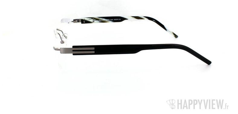 Lunettes de vue Starvision by Seiko Starvision 1026 Titane gris - vue de côté