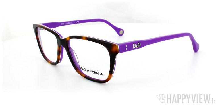 Lunettes de vue Dolce & Gabbana D&G 1238 écaille/bleu - vue de 3/4