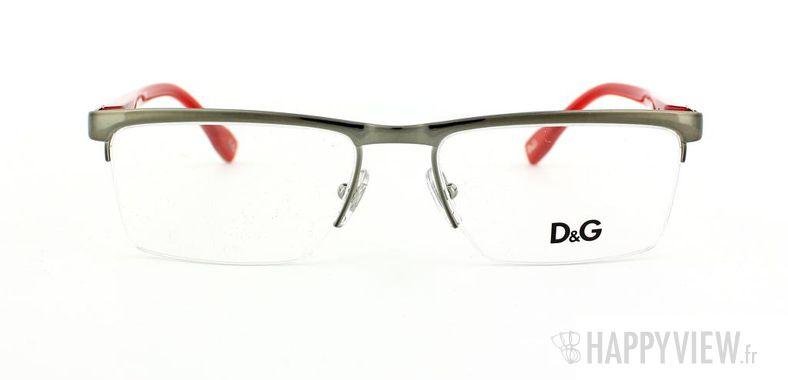 Lunettes de vue Dolce & Gabbana D&G 5104 gris/rouge - vue de face
