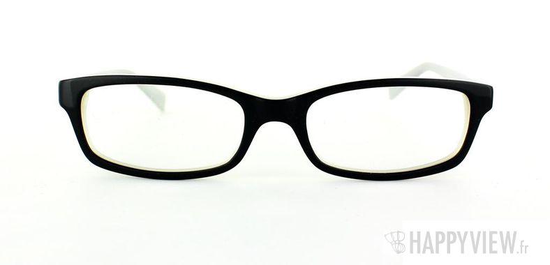 Lunettes de vue Happyview Vannes noir/blanc - vue de face