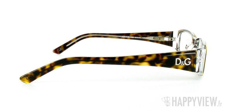 Lunettes de vue Dolce & Gabbana D&G 1179 écaille/blanc - vue de côté