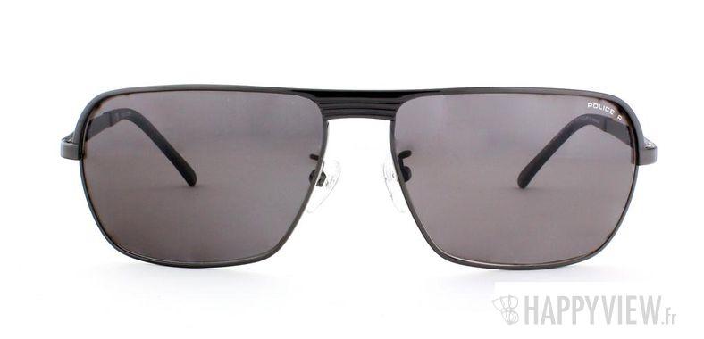 Lunettes de soleil Police Police S8745 Polarisée noir - vue de face