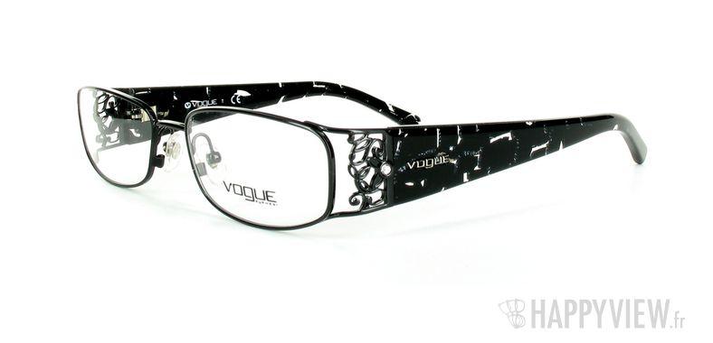 Lunettes de vue Vogue Vogue 3661B noir - vue de 3/4