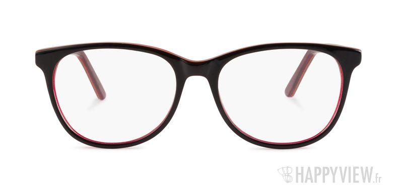 Lunettes de vue Happyview Austen marron/rouge - vue de face