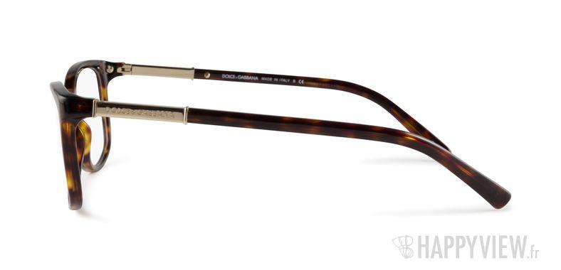 Lunettes de vue Dolce & Gabbana DG 3107 écaille/marron - vue de côté