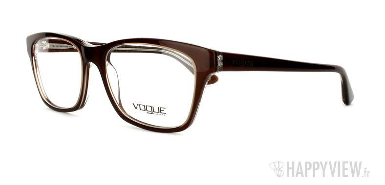 Lunettes de vue Vogue Vogue 2714 marron - vue de 3/4