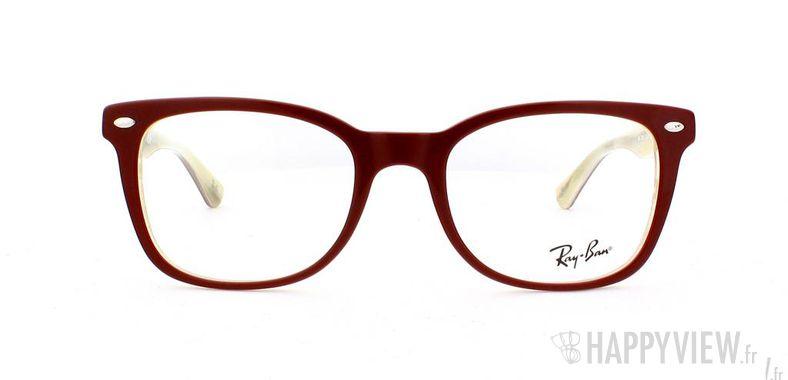Lunettes de vue Ray-Ban Ray-Ban RX5285 rouge - vue de face