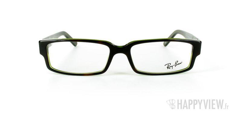 Lunettes de vue Ray-Ban Ray-Ban RX5144 écaille/vert - vue de face