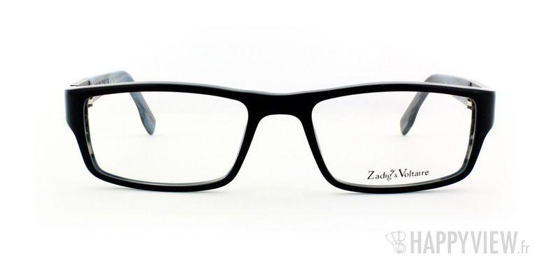 Lunettes de vue Zadig&Voltaire Zadig&Voltaire 3007 noir/bleu - vue de face
