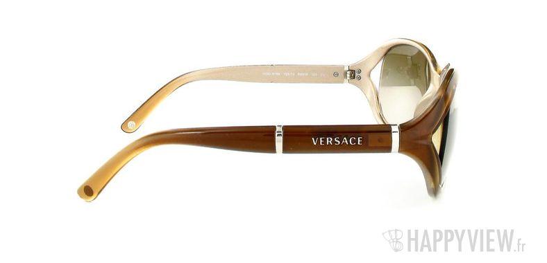 Lunettes de soleil Versace Versace VE4186 marron - vue de côté