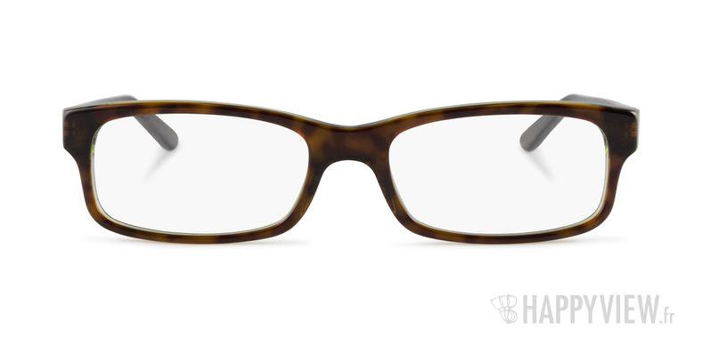 Lunettes de vue Ray-Ban RX 5187 vert/écaille - vue de face