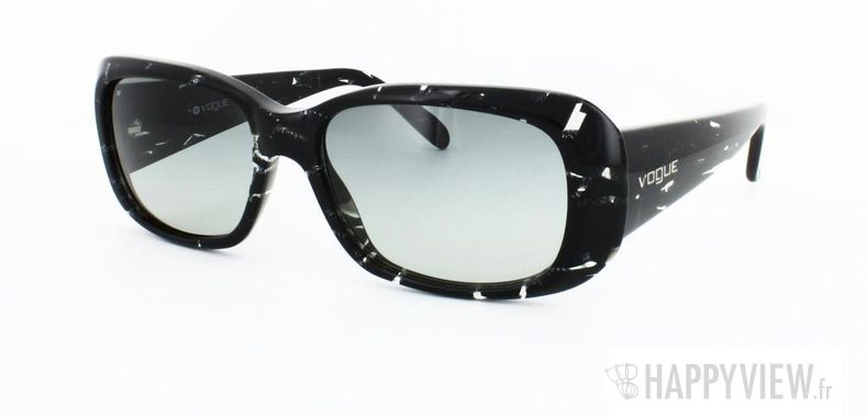 Lunettes de soleil Vogue Vogue 2606S noir - vue de 3/4