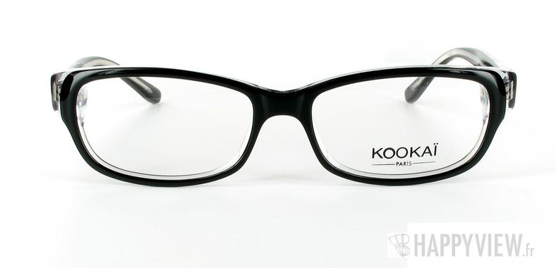 Lunettes de vue Kookaï Kookai 100 noir - vue de face
