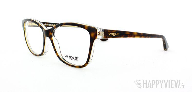 Lunettes de vue Vogue Vogue 2740 écaille/gris - vue de 3/4