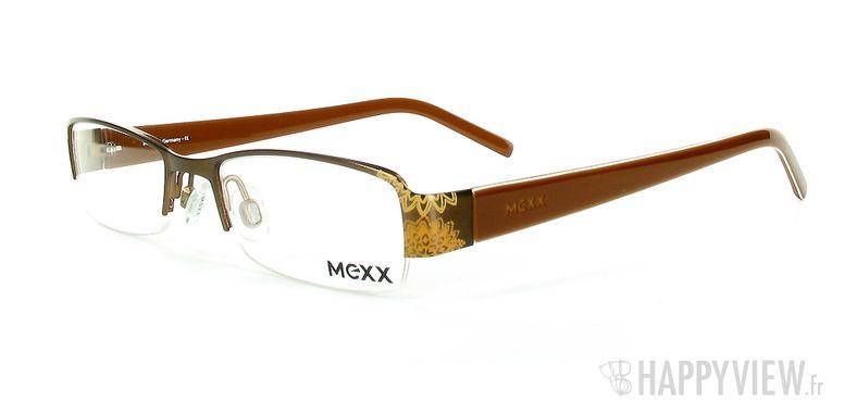 Lunettes de vue Mexx Mexx 5038 marron - vue de 3/4