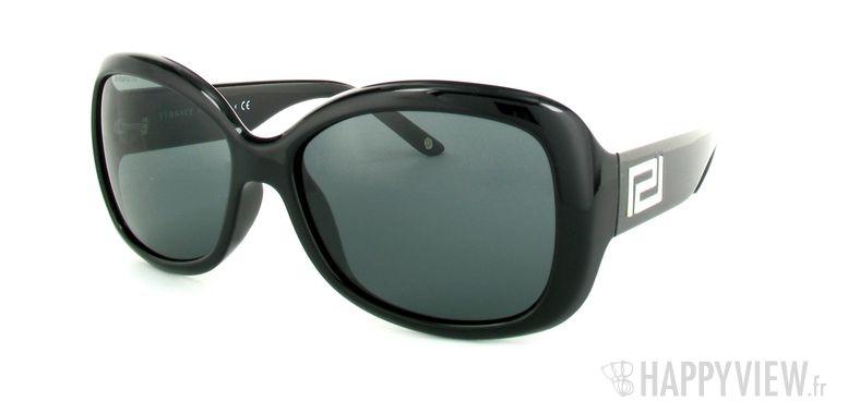 Lunettes de soleil Versace Versace VE4177H noir - vue de 3/4