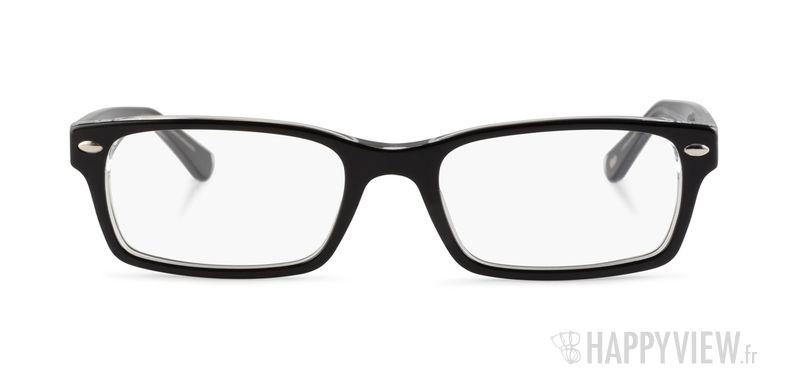 Lunettes de vue Ray-Ban RX 5206 noir - vue de face