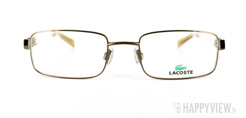 Lunettes de vue Lacoste Lacoste 12046 marron - vue de face