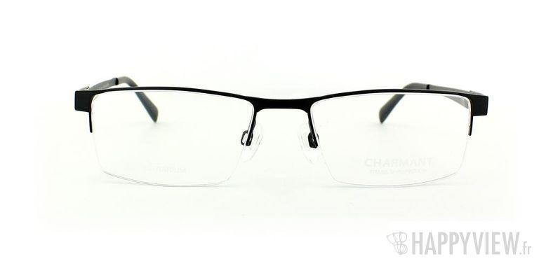 Lunettes de vue Charmant Charmant 10765 Titane noir/gris - vue de face