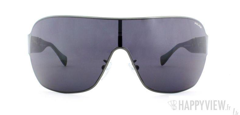 Lunettes de soleil Police Police S8765 noir - vue de face