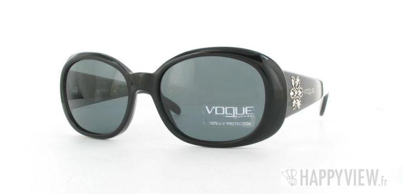 Lunettes de soleil Vogue Vogue 2562S noir - vue de 3/4