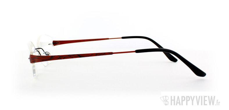 Lunettes de vue Starvision by Seiko Starvision 1017 Titane rouge - vue de côté