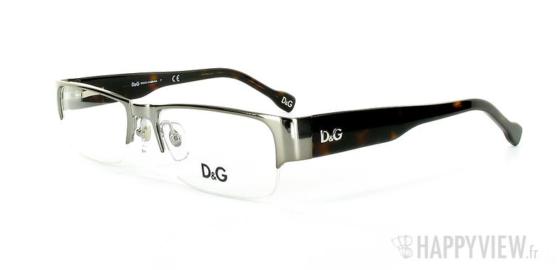 Lunettes de vue Dolce & Gabbana D&G 5074 gris/écaille - vue de 3/4