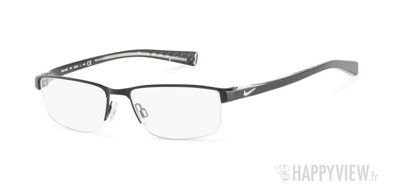 Lunettes de vue Nike 8096 noir - vue de 3/4