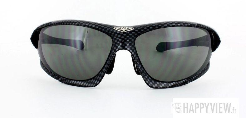 Lunettes de soleil Uvex Uvex SGL 100 noir/argenté - vue de face