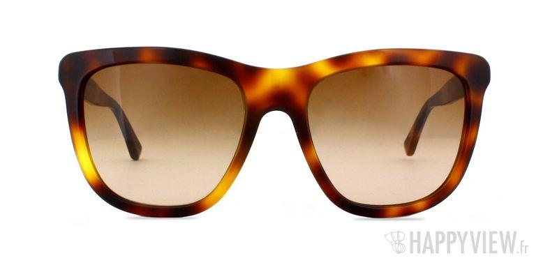 Lunettes de soleil Burberry BE 4130 écaille/marron - vue de face
