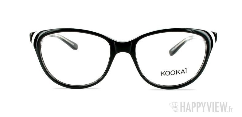 Lunettes de vue Kookaï K 101 noir - vue de face