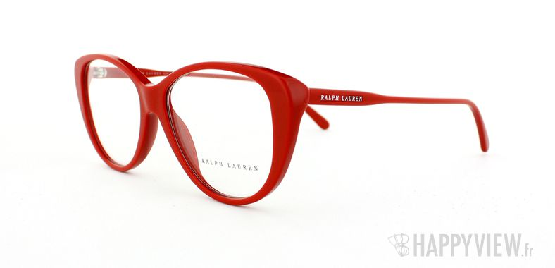 Lunettes de vue Ralph Lauren Ralph Lauren 6083 rouge - vue de 3/4