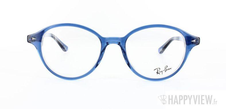 Lunettes de vue Ray-Ban Ray-Ban RX5257 bleu/gris - vue de face