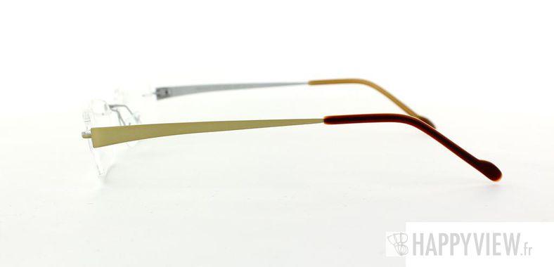 Lunettes de vue Starvision by Seiko Starvision 1010 Titane doré - vue de côté