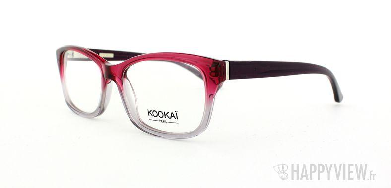 Lunettes de vue Kookaï Kookai 109 rose/bleu - vue de 3/4