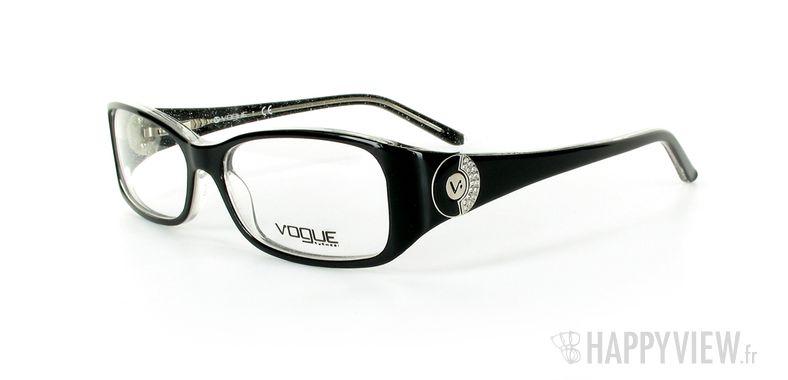 Lunettes de vue Vogue Vogue 2624B noir - vue de 3/4