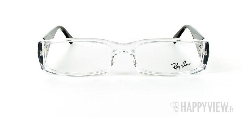 Lunettes de vue Ray-Ban Ray-Ban RX5076 gris - vue de face