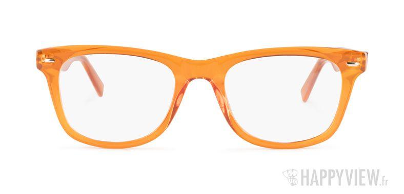Lunettes de vue Happyview Barcelone orange - vue de face